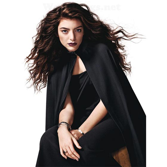 Celebrity booking - LORDE