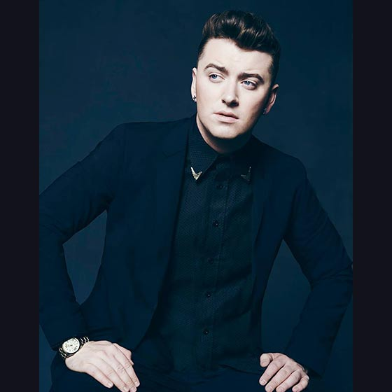 Celebrity booking SAM SMITH
